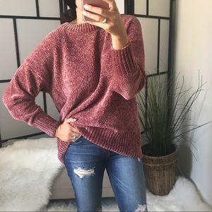 3rd RESTOCK! Chenille/Velvet Yarn Pullover Sweater